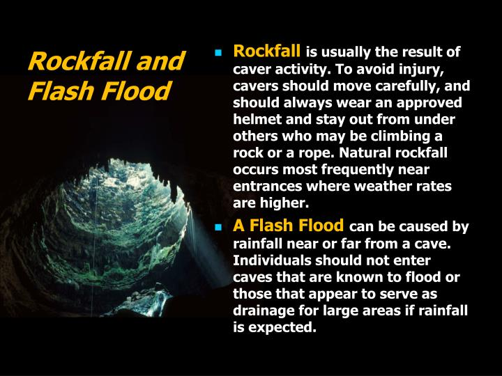 Rockfall and