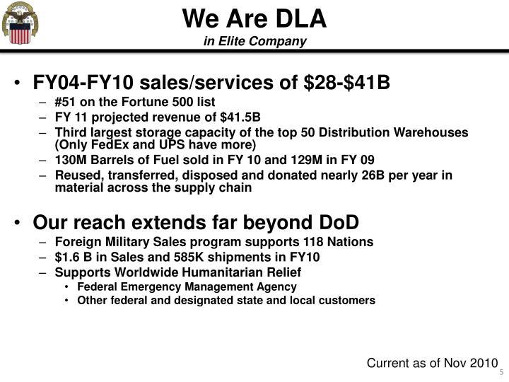 We Are DLA