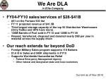 we are dla in elite company