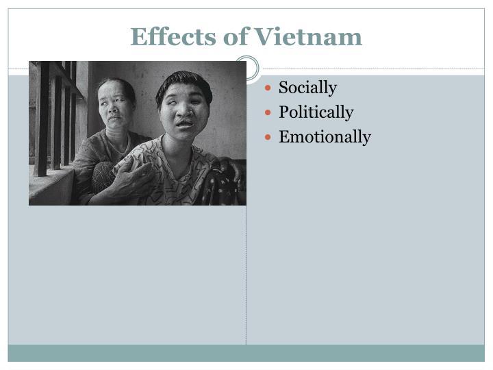 Effects of Vietnam
