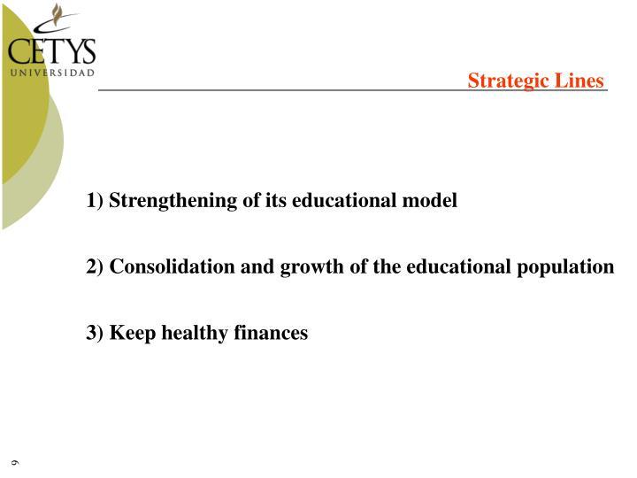 Strategic Lines