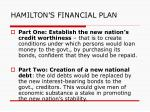 hamilton s financial plan1