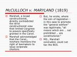 mcculloch v maryland 18192