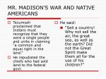 mr madison s war and native americans6