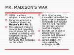 mr madison s war2