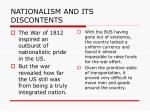 nationalism and its discontents1