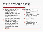 the election of 17962
