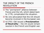 the impact of the french revolution3