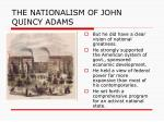 the nationalism of john quincy adams3