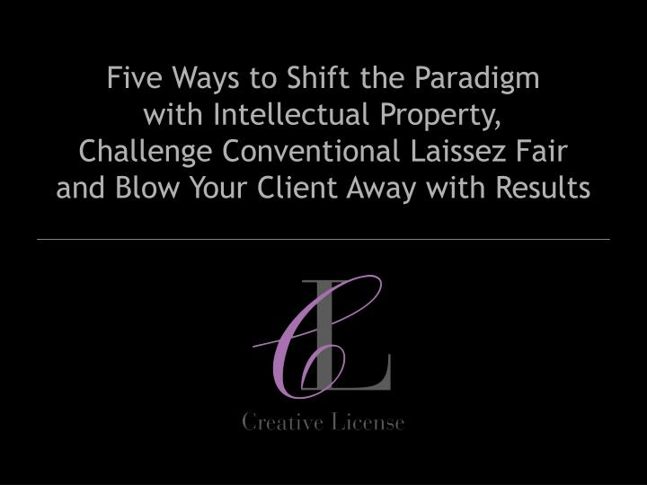 Five Ways to Shift the Paradigm