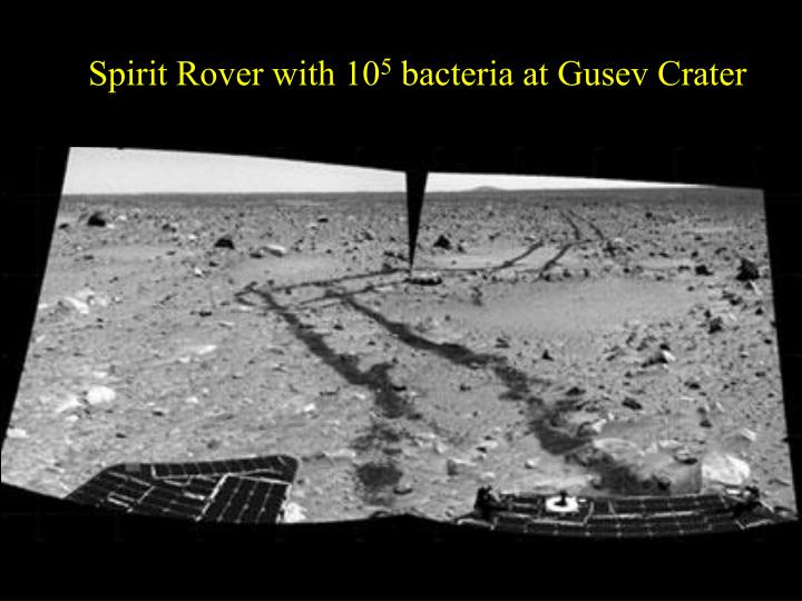 Spirit Rover with 10