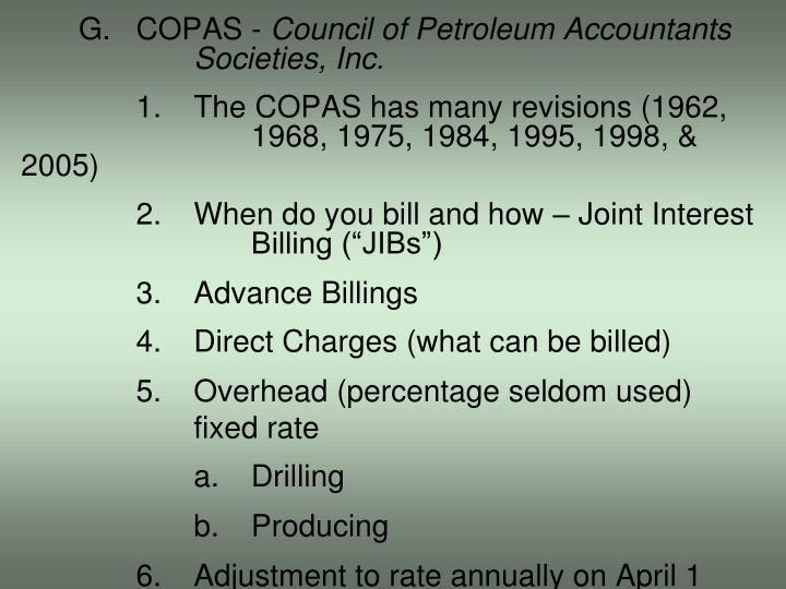 G.COPAS -