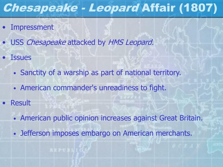Chesapeake - Leopard