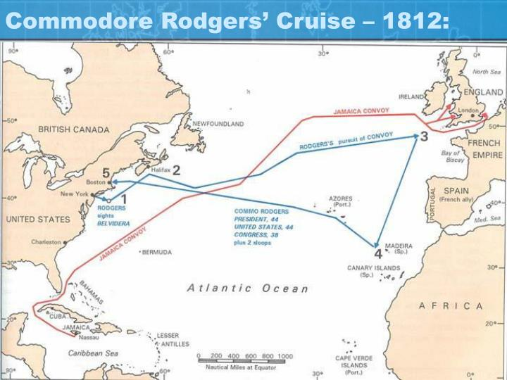 Commodore Rodgers' Cruise – 1812: