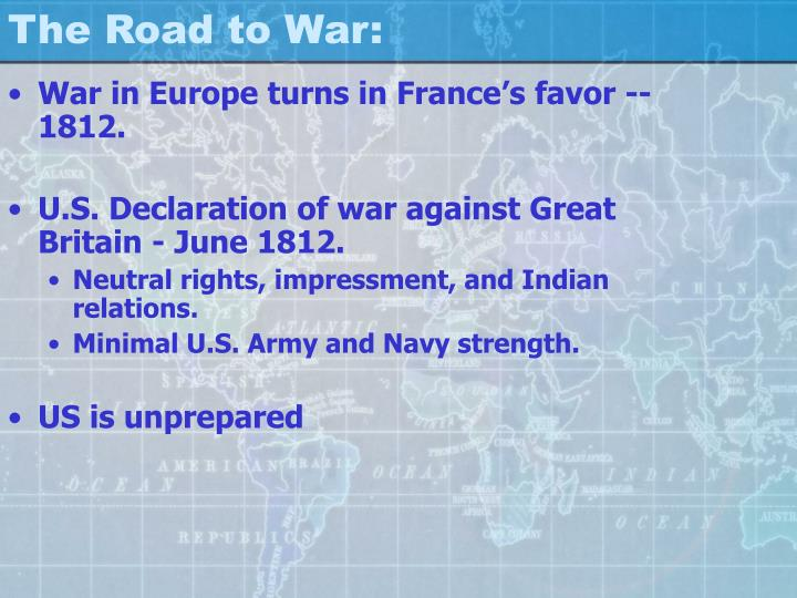 The Road to War: