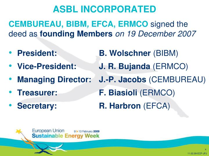 ASBL INCORPORATED