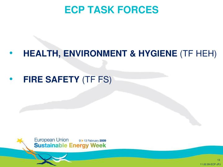 ECP TASK FORCES