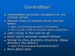 contextbean