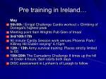 pre training in ireland2