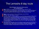 the lemosho 8 day route