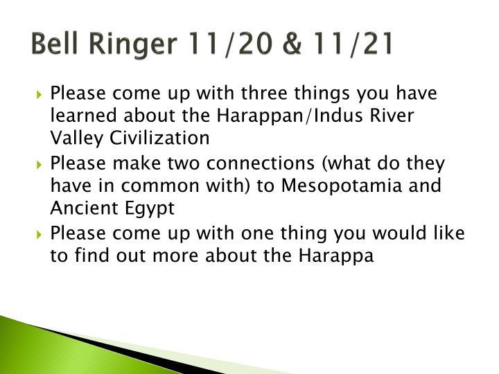 Bell Ringer 11/20 & 11/21
