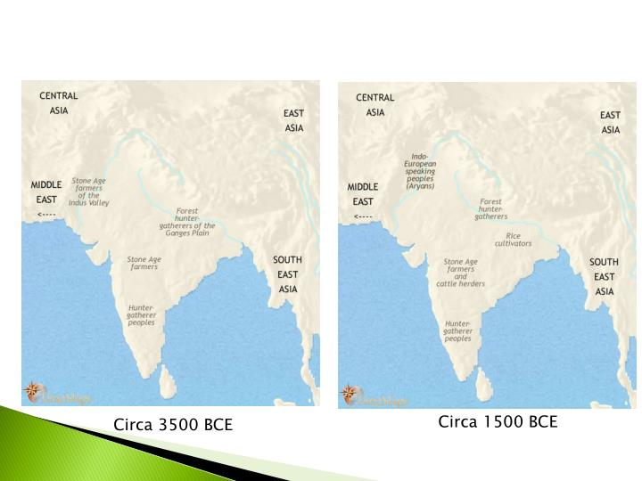 Circa 1500 BCE