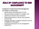 role of compliance to risk management4