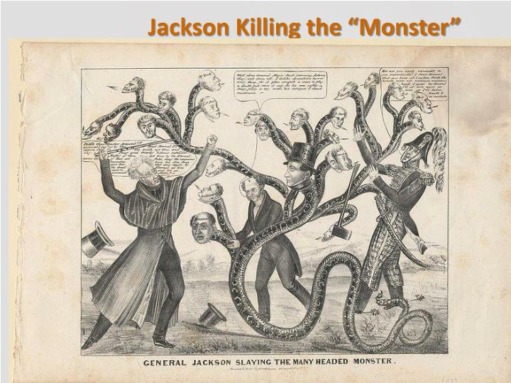 "Jackson Killing the ""Monster"""