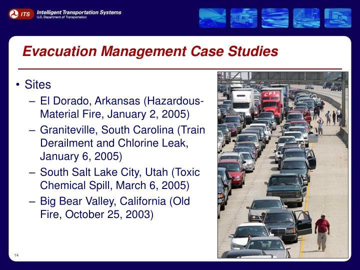 Evacuation Management Case Studies