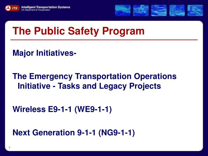 The Public Safety Program