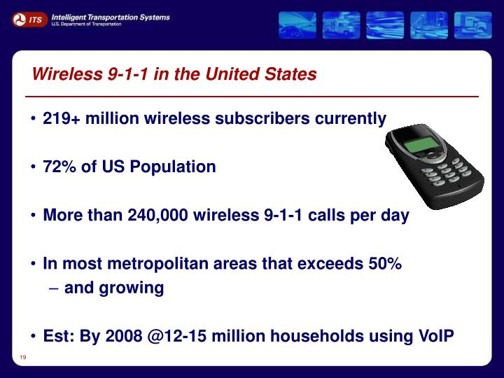 Wireless 9-1-1 in the United States
