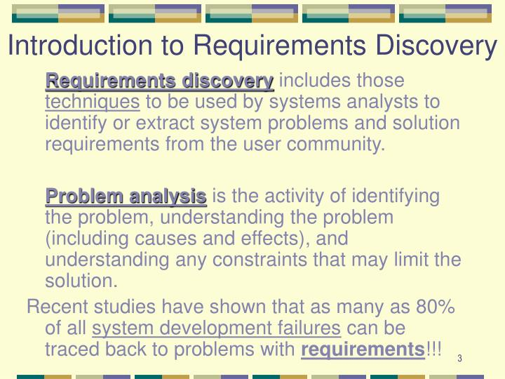 Introduction to Requirements Discovery