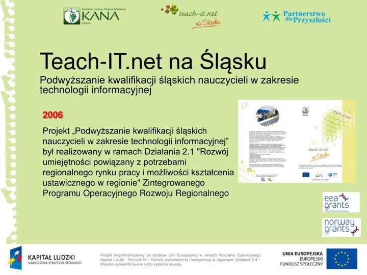 Teach-IT.net na Śląsku