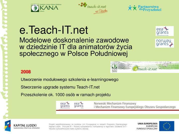 e.Teach-IT.net