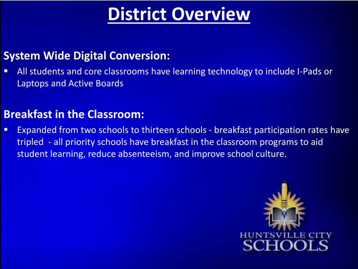 District overview1