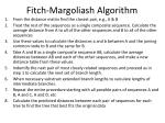fitch margoliash algorithm1
