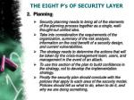 the eight p s of security layer2
