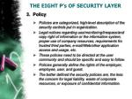 the eight p s of security layer3