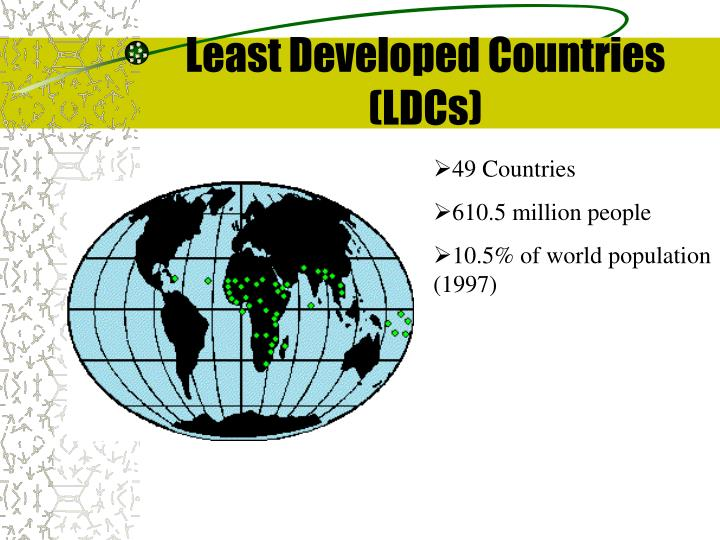 Least Developed Countries (LDCs)