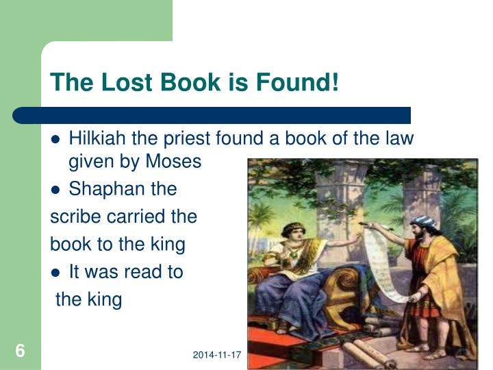 The Lost Book is Found!