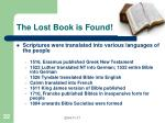 the lost book is found1