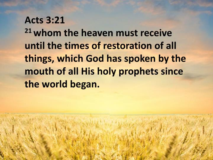 Acts 3:21