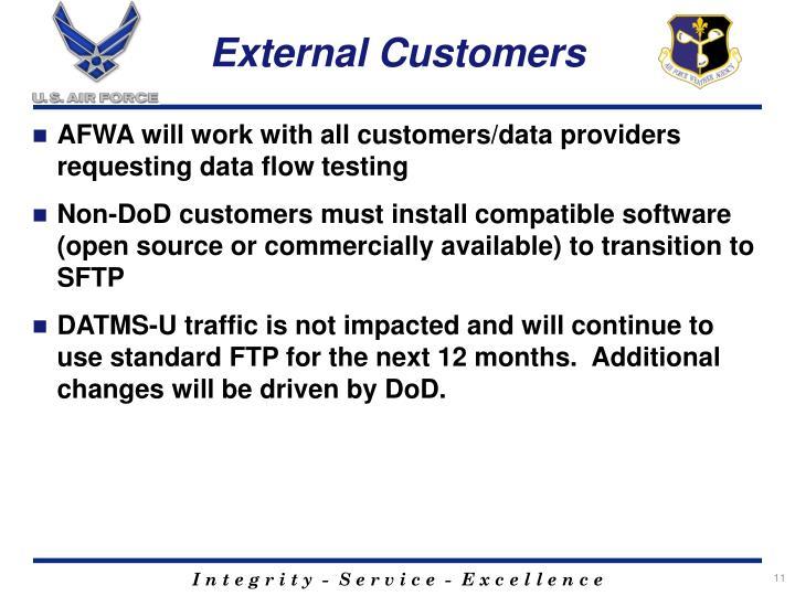 External Customers