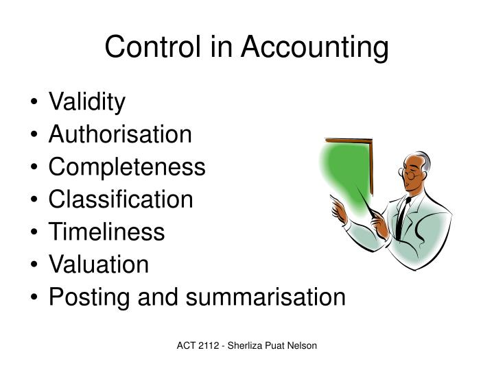 Control in Accounting