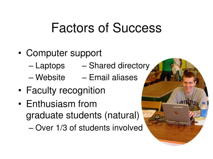 Factors of Success