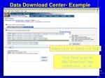 data download center example3