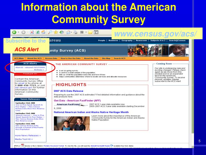 www.census.gov/acs/