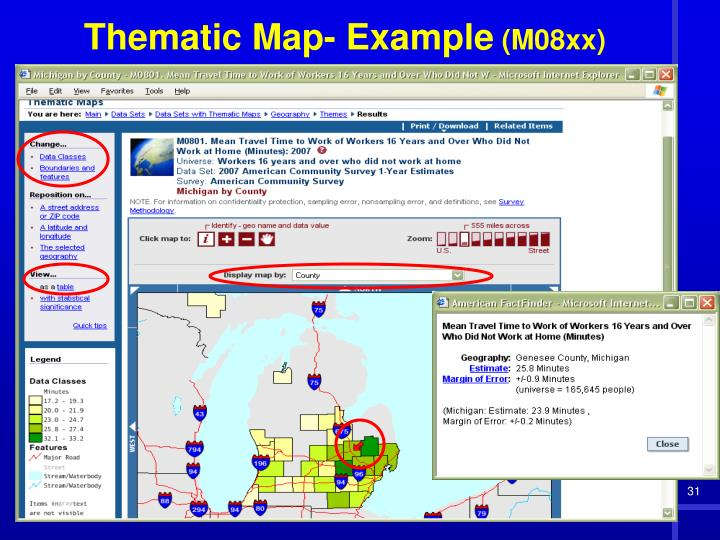 Thematic Map- Example