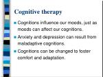 cognitive therapy1