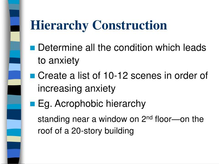 Hierarchy Construction